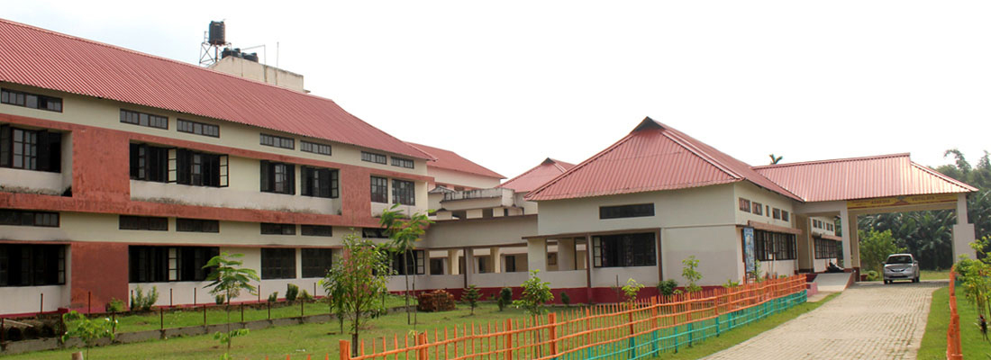School Entrance, Adminisrative Office Building & Class Rooms