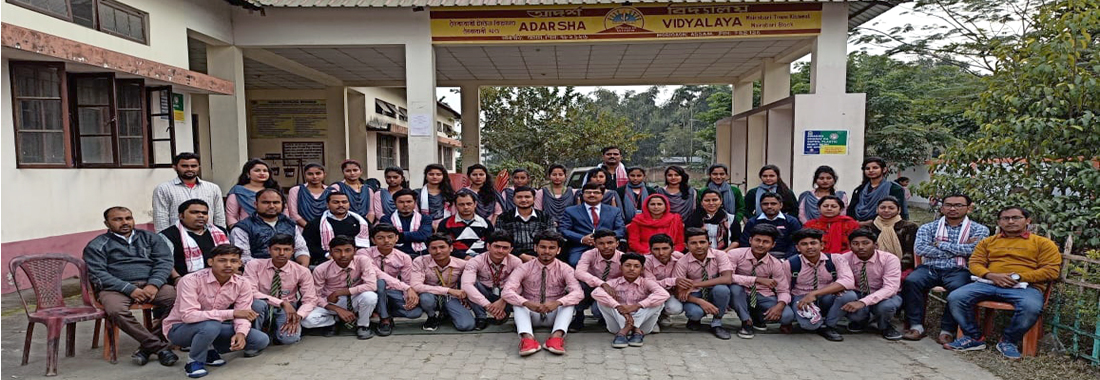 Farewell of Class X students of 2019-2012